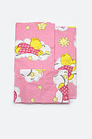 Комплект постельного белья в кроватку для новорожденных (девочка)