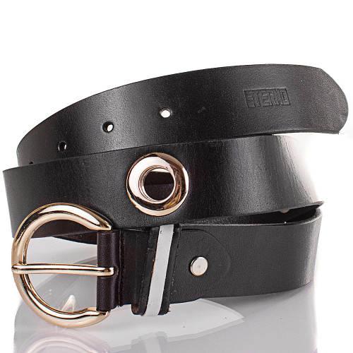 Женский кожаный ремень ETERNO (ЭТЕРНО) ETS429-2 черный