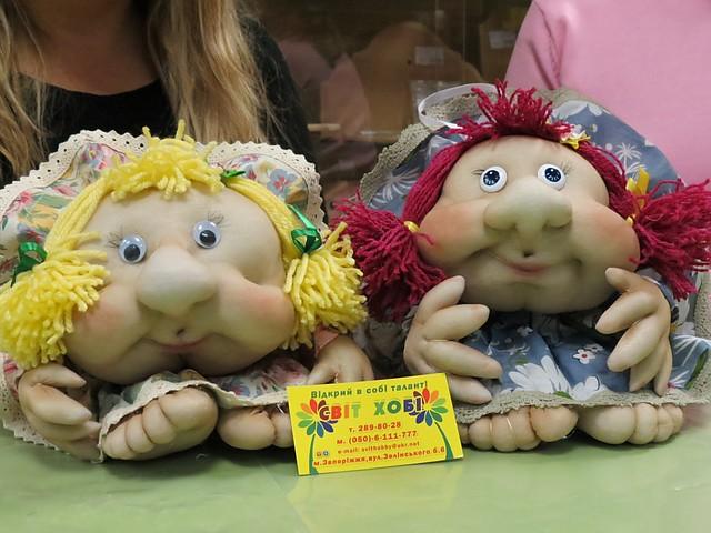 Куклы из капрона мастер класс