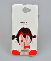 Чехол бампер HTC Desire 316 516 D516w Задняя крышка