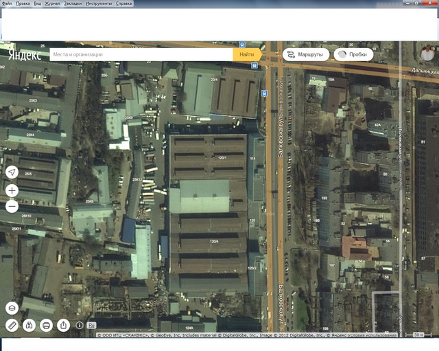 Производственное здание 3583,3 м.кв. Балковская улица