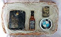 """Мыло ручной работы """"Большой набор: портмоне, виски, зажигалка Jack Daniels, bmw"""""""