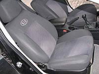 Чехлы на сидения Kia Rio III Sedan цельная с 2011 г.в.