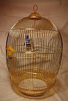 Клетка для попугая №480 - золото