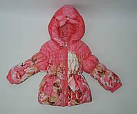 Пальто осеннее на 18 месецев для девочки
