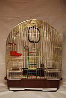 Клетка для попугая (Золотая).