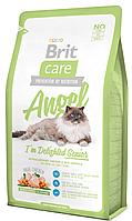 Корм для котов Brit Care Cat Angel I am Delighted Senior 400г, брит для пожилых кошек и котов