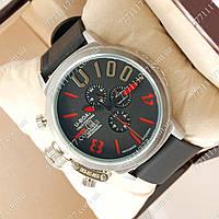 Часы мужские наручные U-boat Italo Fontana Silver-Black-Red