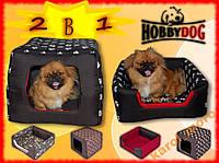 Лежак,домик для кошки или собаки 30x40x40см HobbyDog 2 в 1