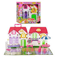 Игрушечный домик для кукол 3141, 28 дет