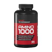 Комплексные аминокислоты GNC Amino 1000 120 softgel caps