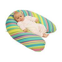 Подушка для беременных и  для кормления детей (наполнитель Холофайбер) EKO Womar