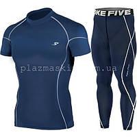 Компрессионная одежда Take Five футболка + штаны нави