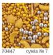 "Посыпка ТМ""Украса""звездная ночь желтые 7г№7 (код 01434)"