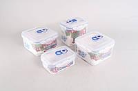 Комплект герметичных пластиковых контейнеров GIPFEL 4546