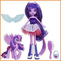 Кукла My Little Pony Equestria Girls Сумеречная Искорка с пони Эквестрия герлз