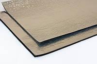 Шумоизоляция ULTIMATE SOFT МЕТАЛЛ 10 мм каучук 50х75 см с клеем и металлизированной пленкой