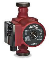 Насос для  систем отопления APC GR 25-60-180 мм + гайки + кабель с вилкой