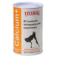 VitamAll Calcium+ Витаминно - минеральные комплекс для кошек и собак 300г