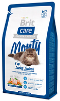 Корм для котов Brit Care Cat Monty I am Living Indoor 2 кг, брит для кошек живущих в помещении