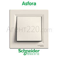 Переключатель перекрестный кремовый Asfora EPH0500123