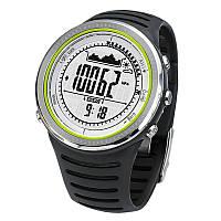 Часы спортивные FR802A для туризма (компас, альтиметр, барометр..). Водозащита 5АТМ