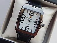 Мужские кварцевые наручные часы Ferrari на каучуковом ремешке