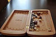 Нарды резные деревянные 45x46 см.