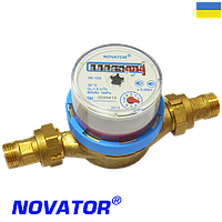 Счетчики воды крыльчатые Novator (Новатор) ЛК-15Х