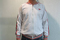 Мужская  толстовка Adidas белая  код 128 в