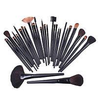 Набор кистей 32 штуки для макияжа и визажа Профессиональный