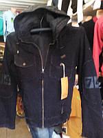 Мужская куртка милитари  осень зима черная