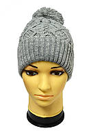 Молодежная шапка с широким отворотом, фото 1