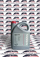 Масло моторное Nissan Motor Oil 5w40 (синтетическое) - 5L