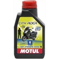 Масло моторное MOTUL Peugeot City Rider 4T 5W-40 1L