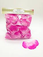 Искусственные лепестки роз фиолето-розовые, 300 шт