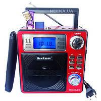 Радиоприемник пишущий KN-896 LCD дисплей AUX КАРАОКЕ Встроенный аккумулятор USB вход
