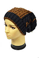 Зимняя шапка унисекс со шнуровкой