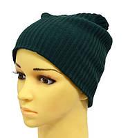 Модная зимняя вязанная шапка