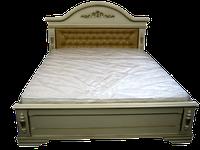 Кровать из натурального дерева Неаполь .