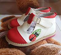 Детские нарядные туфли для девочек B&G