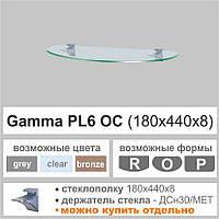 Полка из стекла Сommus  PL6 OC