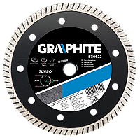 Диск 57H872 Graphite алмазный турбоволна 200 х 25.4 мм ультратонкий, для резки бетона