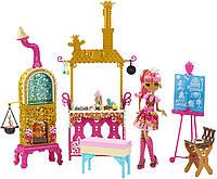 Набор Кухня с Джинджер Бредхаус Покрытые сахаром (Sugar Coated Kitchen with Ginger Breadhouse Doll Play Set)