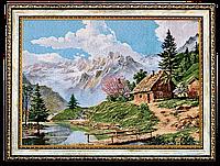 """Картина-гобелен """"Природа"""" 40х30"""