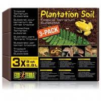Hagen Exo Terra Plantation Soil кокосовая крошка для террариума, 3шт х 8.8л