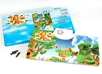 """Интерактивный обучающий плакат """"Зоопарк"""" Joy Toy 7030"""