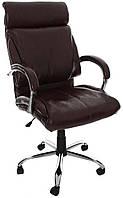 Офисное компьютерное кресло EKO C82, механизм TILT, коричневое