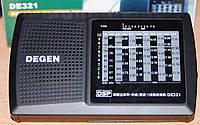 Цифровой радиоприемник DEGEN DE321 приемник