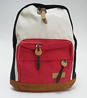 Рюкзак городской, молодежный из натурального материала.